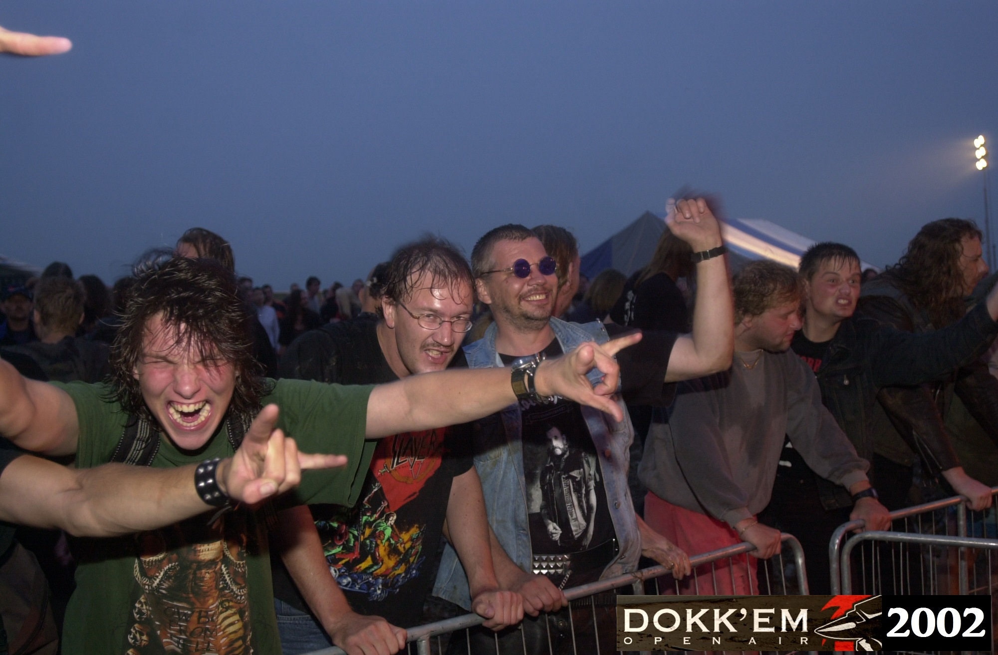Klik op de foto voor de Gallery - Dokk'em Open Air 2002 - foto Alex Bouma