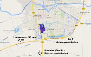 DOA op Google Maps